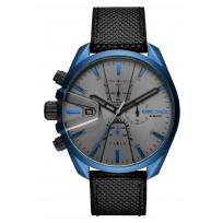 Diesel DZ4506 Horloge Ms9 Chrono zwart-blauw 48 mm 1