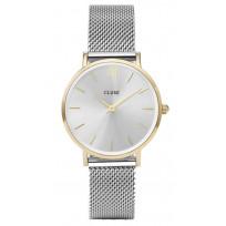 Cluse CW0101203015 Horloge Minuit Mesh gold-silver 33 mm  1