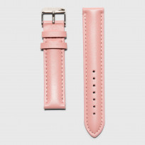 KRAEK Pink Silver   16 mm  horlogebandje 1