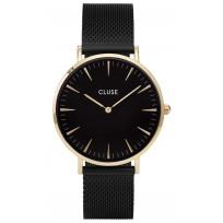 CLUSE CW0101201008 Horloge La Boheme Mesh goudkleurig 38 mm 1