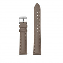 CLUSE CS1408101082 Horlogeband leder taupe-zilverkleurig 16 mm 1