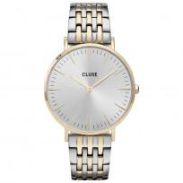 CLUSE CW0101201025 Horloge La Boheme Silver Gold Silver 38 mm 1