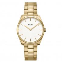 CLUSE CW0101212005 Horloge Feroce goudkleurig-wit 36 mm 1