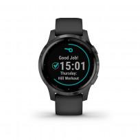 Garmin 010-02172-12 Vivoactive 4S GPS Smartwatch PVD Black Slate 1