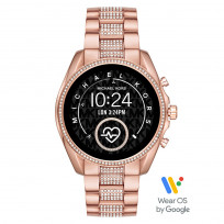 Michael Kors MKT5089 Access Bradshow Gen 5 Display Smartwatch rosékleurig 45 mm 1