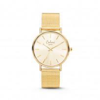 Colori XOXO 5 COL535 Horloge - Mesh Band - Ø 36 mm - Goudkleurig  1