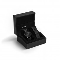 MVMT CBX-VYGSLATE box  Voyager Horloge 42 mm 1