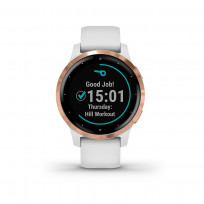 Garmin 010-02172-22 Vivoactive 4S GPS Smartwatch White rose gold 1