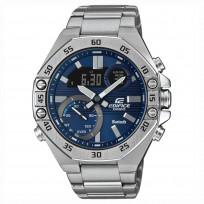 Casio Edifice horloge ECB-1OD-2AEF Chronograaf Bluetooth Smartphonetime 51 mm 1
