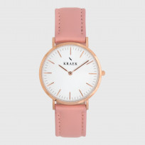 KRAEK Livia | Rose Gold | Pink  Dameshorloge 1