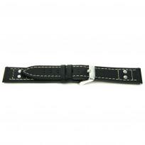 Horlogeband I165 Pilots Zwart 24x22mm 1