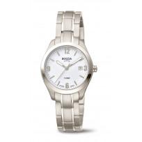 Boccia 3317-01 Horloge Titanium Saffierglas zilverkleurig 31 mm 1