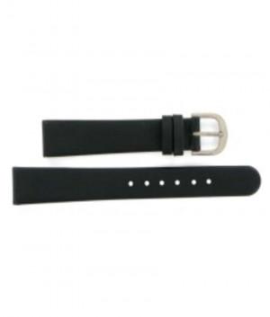 Danish Design 14mm. zwart horlogeband